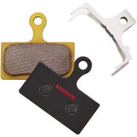 Sixpack Shimano XTR/XT/SLX Patins de frein Fritté